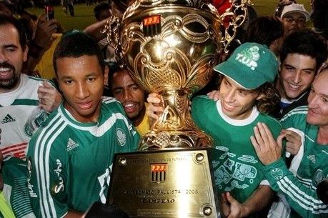 Preá comemora título paulista de 2008