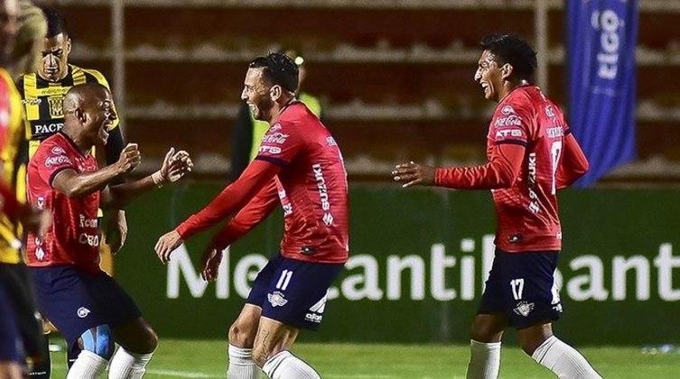 Jorge Wilstermann (Bolívia) - O futebol boliviano não tem qualquer previsão de retorno, porém a equipe foi liberada para voltar aos treinos no dia 31 de julho. Assim como os clubes argentinos e venezuelanos não disputará nenhuma partida antes de enfrentar o Athletico-PR, dia 15, no Félix Capriles.
