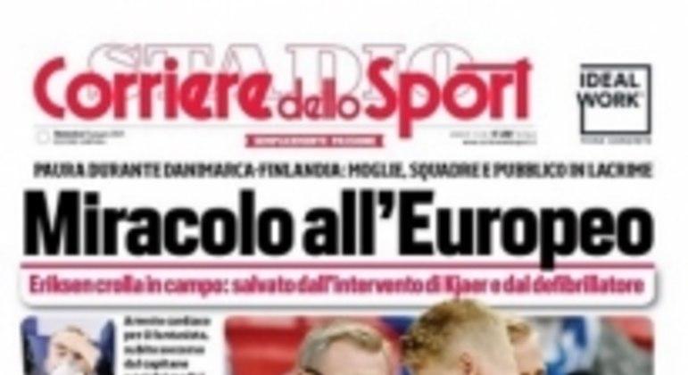 Jornal Corriere - Eriksen