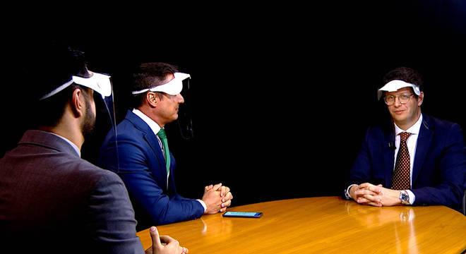 Ricardo Salles é convidado do JR Entrevista desta quarta (1º)