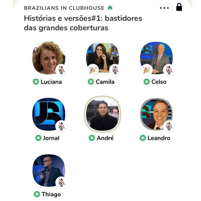 Jornal da Record promove bate-papo no Clubhouse