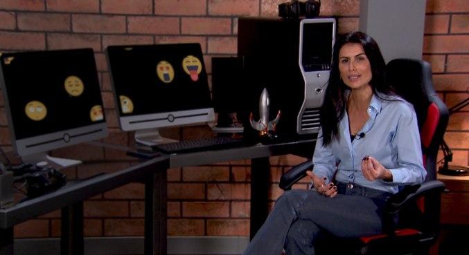 Cleisla Garcia mostra como esses jovens usam as redes sociais