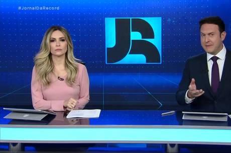 'Jornal da Record - Edição de Sábado' em segundo lugar