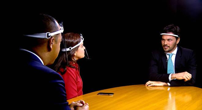 JR Entrevista recebe o Ministro das Comunicações Fábio Faria