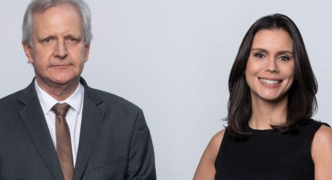 Augusto Nunes e Camila Busnello assumem o comando do JR News a partir de julho