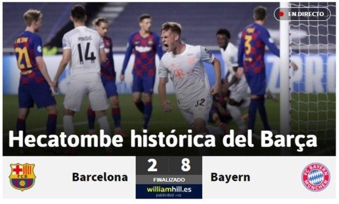 Jornal espanhol 'As':