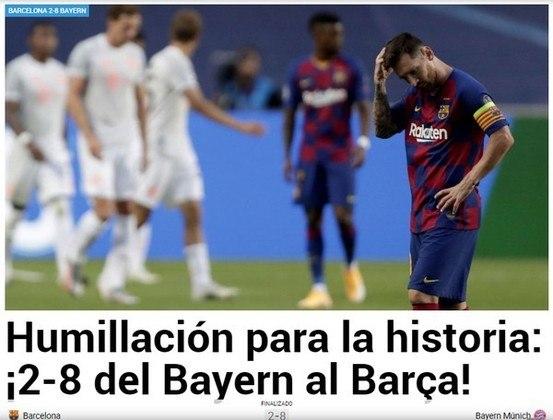 Jornal espanhol Marca:
