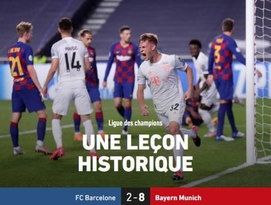 Jornal francês 'L'Équipe':