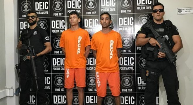 872692a0239 Polícia prende autores de assalto a joalheria em shopping de Goiânia ...