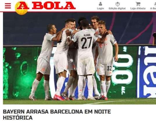 Jornal português 'A Bola':