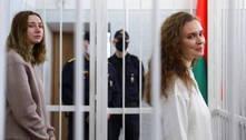 Jornalistas são condenadas à prisão por filmarem atos em Belarus