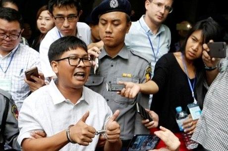 Jornalistas foram presos em dezembro de 2017