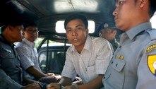 Policial de Mianmar descreve 'emboscada' para prender repórter