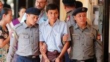 Defesa pede anulação de caso de repórteres presos em Mianmar