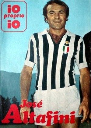 José Altafini (Mazzola) - atacante - 1972/1976 - 97 jogos e 34 gols - Clubes no Brasil: XV de Piracicaba e Palmeiras