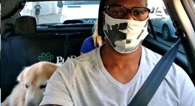 José Carlos começou a trabalhar para app de transportes de pets após queda de rendimento