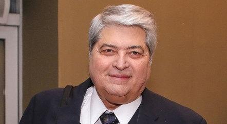 Na imagem, apresentador Luiz Datena