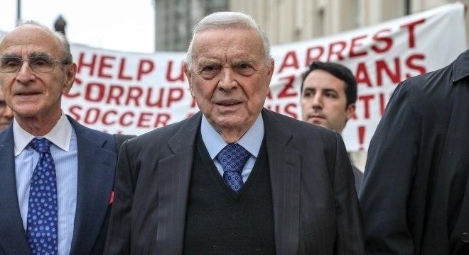 José Maria Marin foi condenado pela Justiça americana por corrupção