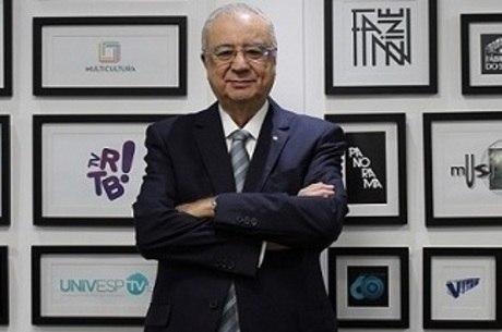 José Roberto Maluf, presidente da TV Cultura, que negocia a Fórmula 1