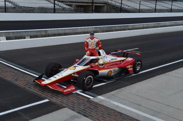 Josef Newgarden, #1, da Penske, é o 13º