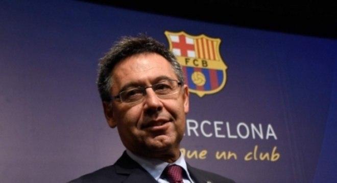 Presidente do Barcelona também se posicionou