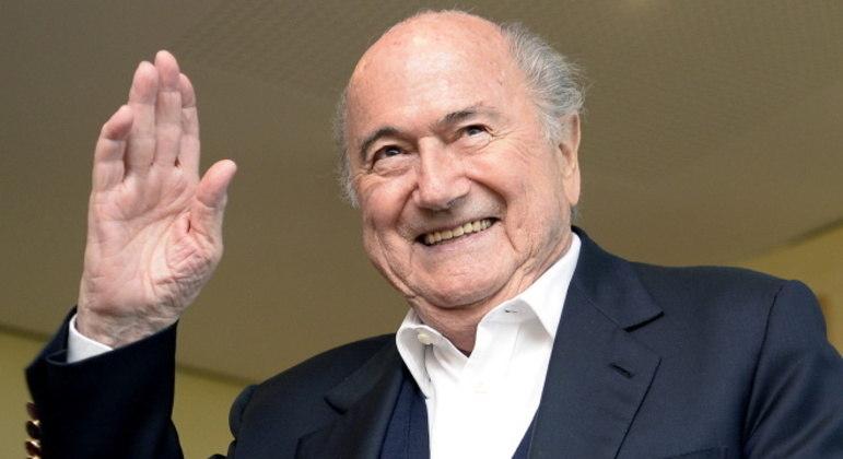 Joseph Blatter foi presidente da Fifa por muitos anos