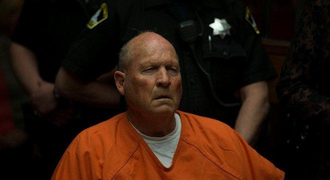 Joseph James DeAngelo, de 72 anos, foi apontado como suspeito de o Assassino do Golden State graças a testes de DNA
