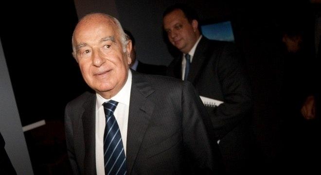 O banqueiro Joseph Safra tem fortuna estimada em R$ 119 bilhões