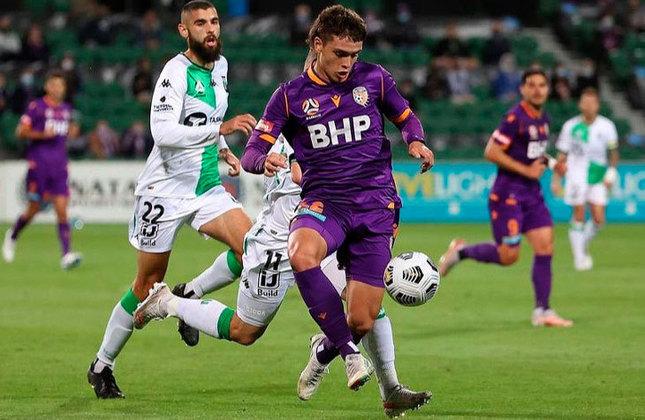 Joshua Rawlins (Austrália) - Clube: Perth Glory (Austrália) - Posição: Lateral-direito