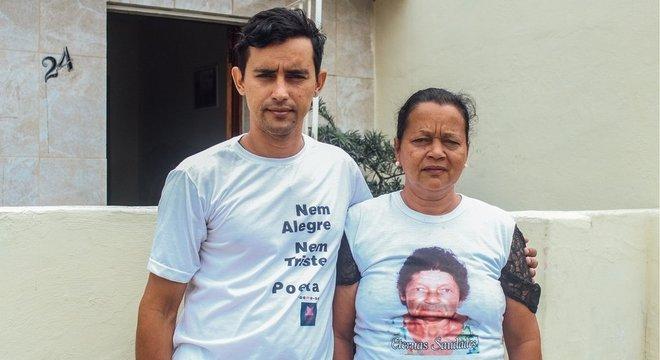 Josilene foi morar com o filho Josino no início deste ano, após a morte do marido