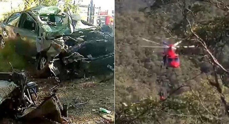 Jovem suspeita de detonar carro em colisão rolou 70 m colina abaixo, na Austrália