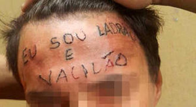 Jovem tatuado na testa é condenado a 4 anos e 8 meses por furto no ABC Paulista