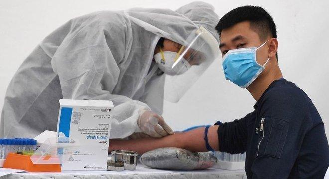 Vietnã fabricou kits a um custo inferior a US$ 25 e que produzem resultado em 90 minutos