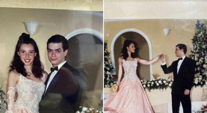 Imagina dançar a valsa de 15 anos com o Fábio Assunção? A mãe da @mary_mfez dançou