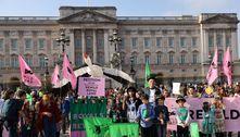 Jovens pedem que a família real restaure a natureza em suas terras