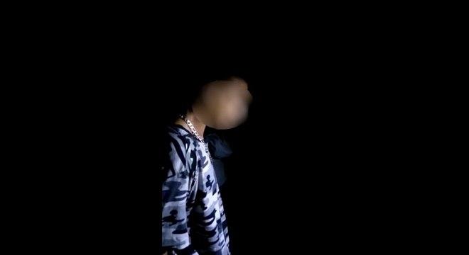 Um dos jovens suspeitos do assassinato foi interrogado no local do crime pela PM