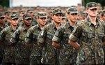 jovens no exército, alistamento, militar
