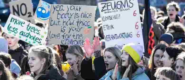 Jovens da Alemanha se uniram ao movimento