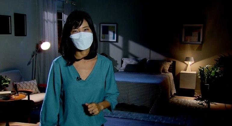 Repórter Catarina Hong mostra como a covid-19 afetou o sono dos brasileiros