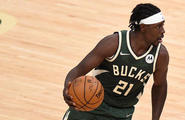 Jrue Holiday - 31 anos - Armador do Milwaukee Bucks - Estreante em Olimpíada