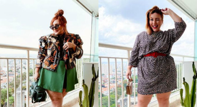 Blogueira de moda plus size, Ju Romano mostra como evitar queimaduras