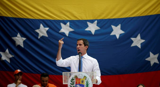 Líder da oposição da Venezuela, Juan Guaidó está com covid-19