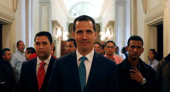 Em 20 de janeiro, Guaidó se declarou presidente interino da Venezuela