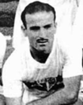 Juan Jose Negri - 74 jogos: argentino, o atacante jogou no Tricolor entre 1953 e 1955. Fez 18 gols na sua passagem.