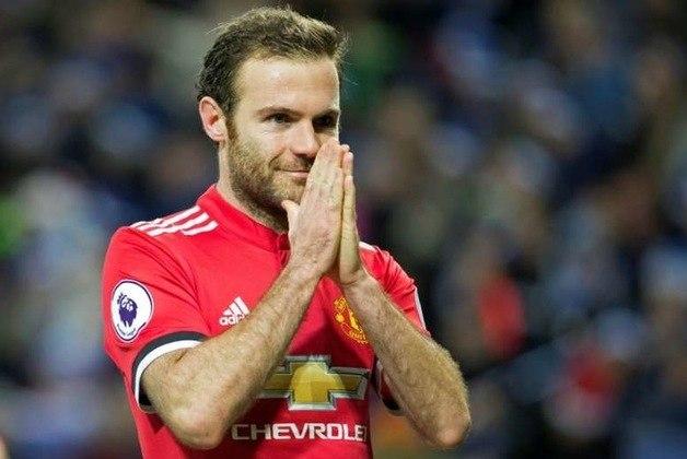 Juan Mata: meia - 33 anos - espanhol - Fim de contrato com o Manchester United - Valor de mercado: 4 milhões de euros