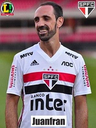 Juanfran – 5,0: Fazia uma partida consistente na defesa, até o Coritiba aproveitar um desligamento coletivo e empatar.