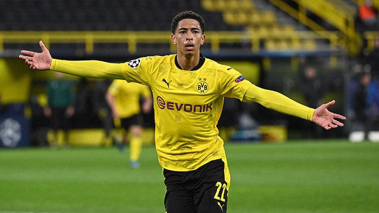 Jude Bellingham (17 anos) - Posição: meia - Clube: Borussia Dortmund.
