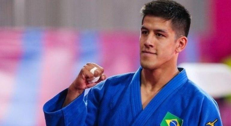 O judoca Yudy Santos viaja para sua primeira Olimpíada
