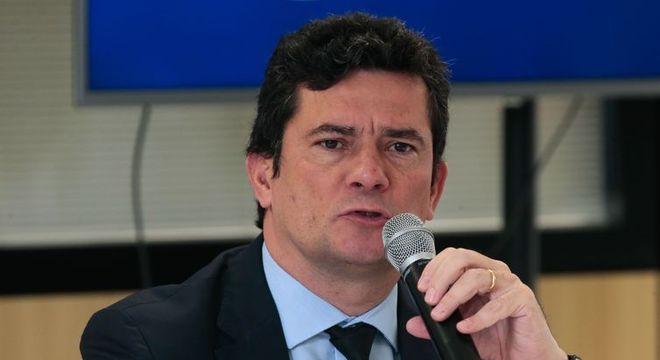 O ministro da Justiaça e Segurança Pública, Sergio Moro