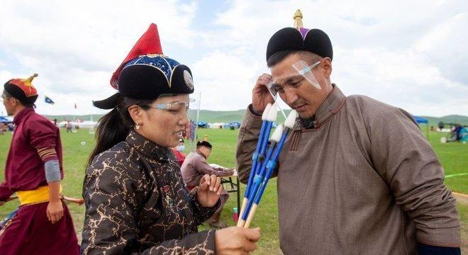 Sociedade mongol se submeteu a duras restrições pelo coronavírus, incluindo a celebração de um de seus festivais mais importantes, o Naadam Festival, que não teve quase nenhum público